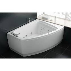 TopDesign spabad 183x91 - 2 personers - Hvid - Højre model