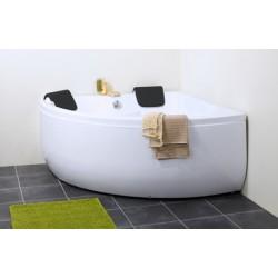 TopDesign badekar 140 X 140 cm - 2 personer