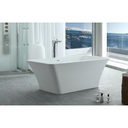 TopDesign fritstående badekar 170 X 80 cm