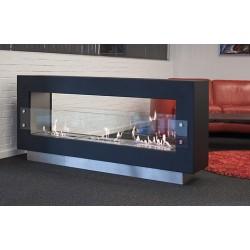 Topdesign biopejs gulvstående model - 3 x 5L liter brændekamre