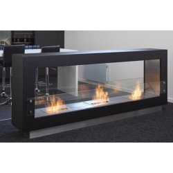 Topdesign biopejs gulvstående model - 3 x 10L liter brændekamre