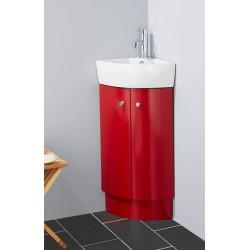 Topdesign hjørne møbelpakke - Rød højgans