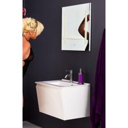 Topdesign møbelpakke 60x42 - Hvid højgans
