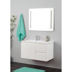Topdesign møbelpakke 91x53cm - Hvid