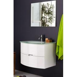 Topdesign møbelpakke 80x60cm - Hvid højglans