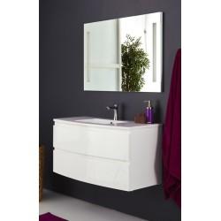 Topdesign møbelpakke 100x53cm - Hvid