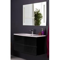 Topdesign møbelpakke 100x53cm - Sort