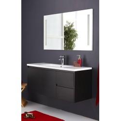 Topdesign møbelpakke 120x53cm - Hvid