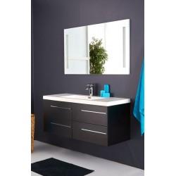 Topdesign møbelpakke 120x53cm - Sort