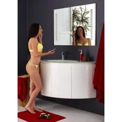 Topdesign møbelpakke 100x62cm - Hvid