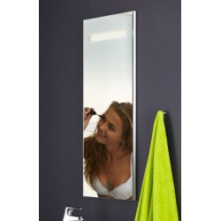Topdesign LED toiletspejl 100x42cm - m/antidug