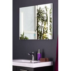 Topdesign LED toiletspejl 60x80cm - m/antidug