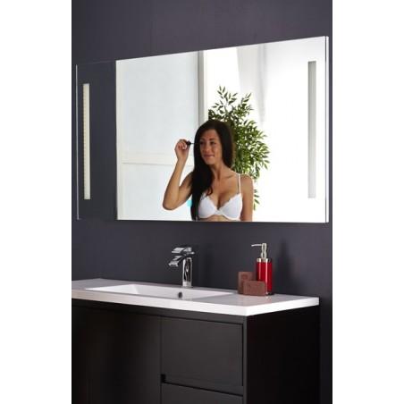 Topdesign LED toiletspejl 150x70cm - m/antidug