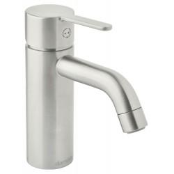 Damixa Silhouet håndvaskarmatur, small, u/bundventil - Steel