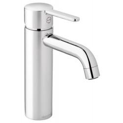 Damixa Silhouet håndvaskarmatur, medium, m/bundventil - Krom