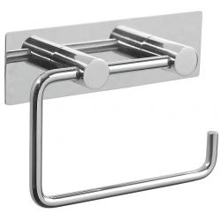 Pressalit poleret rustfri toiletpapirholder - m/bagplade
