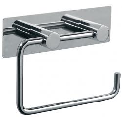 Pressalit rustfri toiletpapirholder - m/bagplade