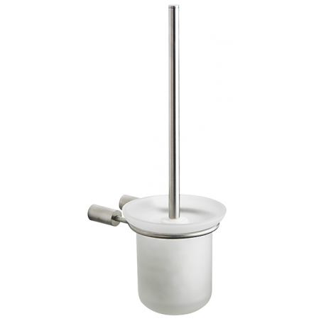 Pressalit toiletbørste i rustfri stål - m/glasskål