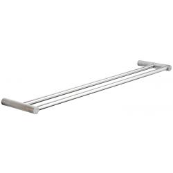 Pressalit håndklædestang dobbelt 60x12 cm i rustfri stål