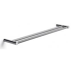 Pressalit håndklædestang dobbelt 60x12 cm i poleret rustfri stål