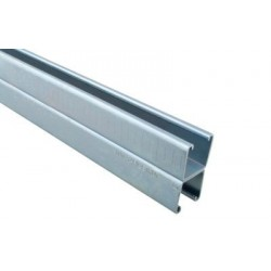Walraven RapidStrut dobbelt montageskinne 41x41x2,5mm. Lgd. 6 mtr. Elforzinket