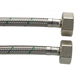 """Neoperl Softpex tilslutningsslange. 500 mm - 3/4"""" x 3/4"""" Rustfri flet."""