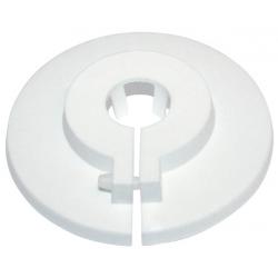 """Plastroset Hvid 1.1/4"""" / 90mm todelt"""
