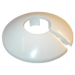 Plastroset 2-delt hvid, 18 mm
