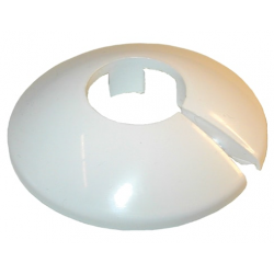 Plastroset 2-delt hvid, 22 mm