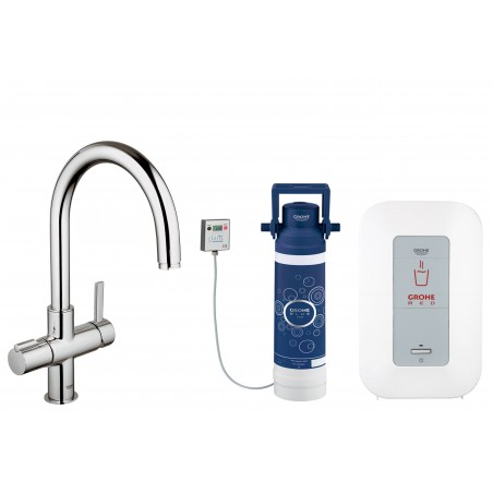 Grohe Red Duo 4L Krom Med C-Tud, inkl filtersæt
