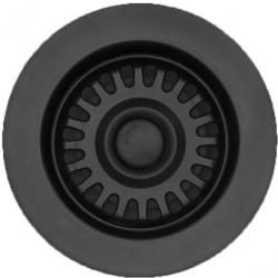Lavabo afløbssæt i sort