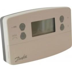 Danfoss TP7000M kloktermostat Netspænding og indbygget føler 087N7408