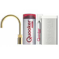 Quooker Nordic Round Messing - Combi+ & Cube køler