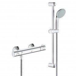 Grohe Grohtherm 800 termostat med brusesæt 600 mm,
