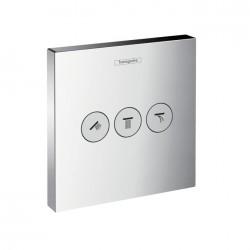 Hansgrohe HG ShowerSelect Ventil m/3 afsp. krom