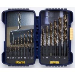 HSS-bor-kassette Turbomax 1,5-10 mm, 15 stk.