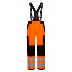 Lyngsøe Rainwear ARC regnbukser, orange/sort - flere varianter