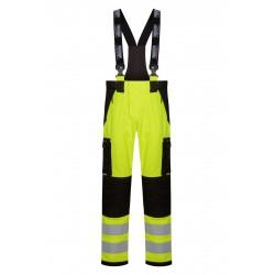 Lyngsøe Rainwear ARC regnbukser, gul/sort - flere varianter