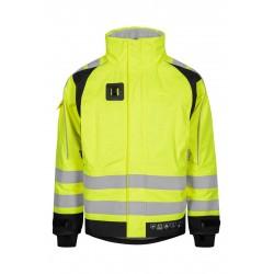 Lyngsøe Rainwear ARC regnjakke, gul/sort - flere varianter