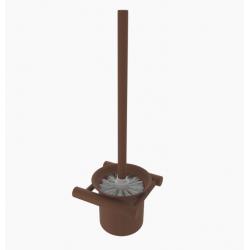 Primy Steel Toiletbørste - m/vægholder - Rust