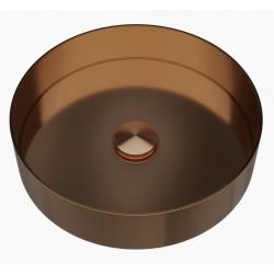 Primy Steel Rare R håndvask - Kobber/amber