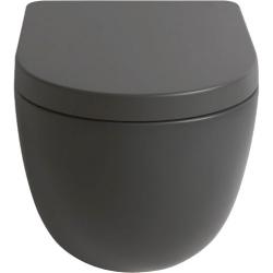 Lavabo File 2.0 hængeskål uden skyllekant - Grå