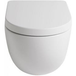 Lavabo File 2.0 hængeskål uden skyllekant - Mat hvid