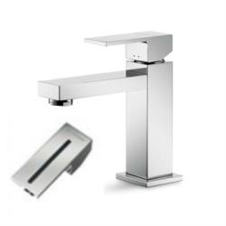Cassøe Newform ERGO-Q håndvaskarmatur, u/bundventil - Sort stribe