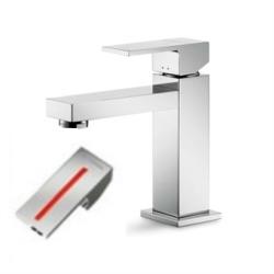 Cassøe Newform ERGO-Q håndvaskarmatur, u/bundventil - Rød stribe