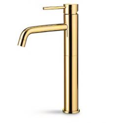 Cassøe Newform XT høj håndvaskarmatur u/bundventil - Messing