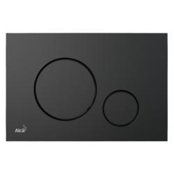Cassøe Alcoplast Betjeningsplade - Mat sort