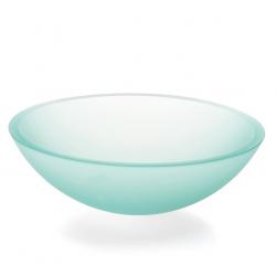 Cassøe Lineabeta Acquaio bowlevask Ø42,5 x 10 cm - Ætset glas