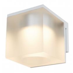 Cassøe Vetro spejllampe 5W LED - Frosted glas - Hvid