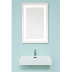 Cassøe Light frame LED spejl, vendbar - 90 x 90 cm